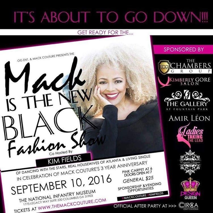 Mack is the New Black Fashion Show