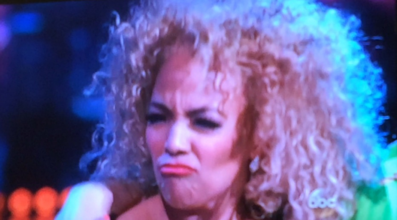 Kim Fields reacts to Bruno's encouragement on Dancing With the Stars, Episode 2, Season 22.