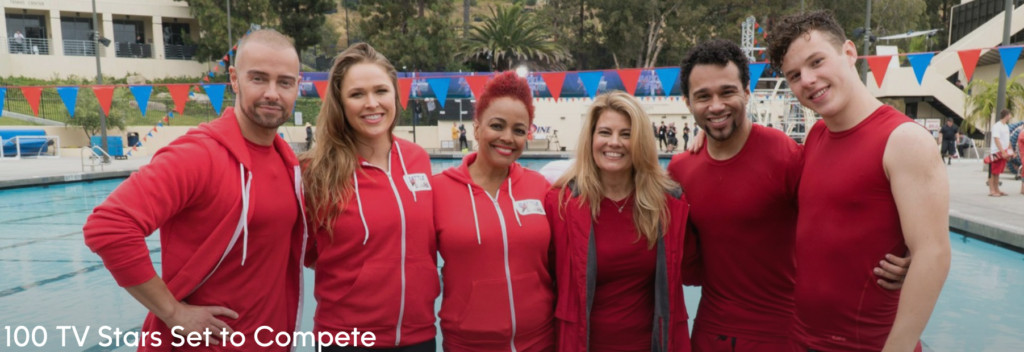 Kim joins the cast of Battle of the Network Stars!