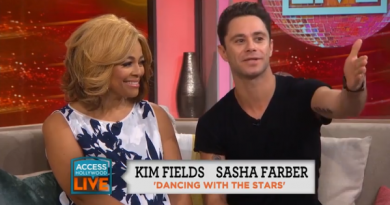 Access Hollywood interviews Kim Fields and Sasha Farber about Dancing With the Stars
