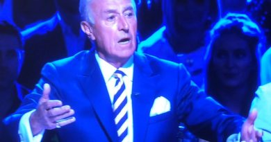 Len Goodman demands an explanation for the missing Viennese in Kim's Waltz!
