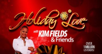 Kim promotes her Holiday Love!