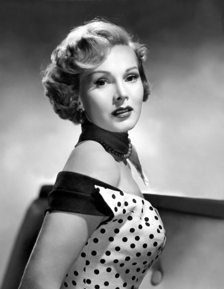 Zsa Zsa Gabor in her younger days.