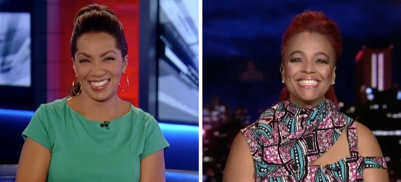 Arthel Neville interviews Kim Fields on Fox News