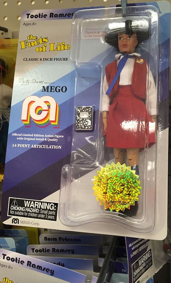 MEGO Classic has reissued a doll for Tootie Ramsey from The Facts of Life. (Credit: Target in Albany, OR)