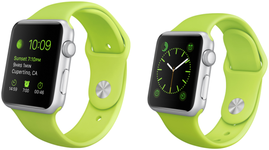 The Apple Watch Sport Collection