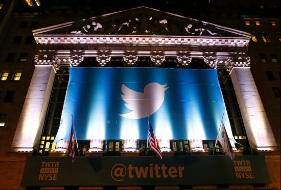 Twitter's glory the night before its big IPO