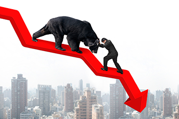Bears and sellers manage to hold the line at resistance.
