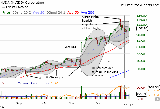 Nvidia (NVDA) looks like it is finally stabilizing and preparing for its next run-up.