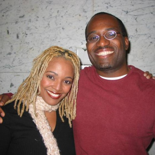Kim Fields and Me in 2003