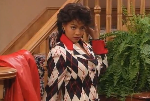 Kim Fields in Living Single as Regine