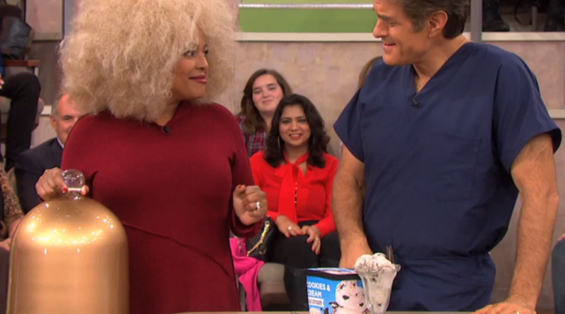 Kim Fields reveals her guilty pleasure: cookies and cream ice cream!