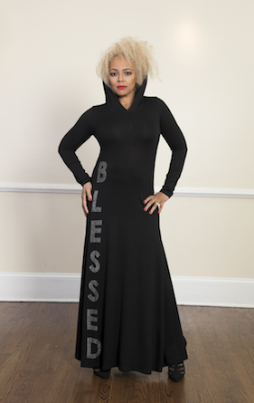 Kim Fields wrapped up as a Blessing!