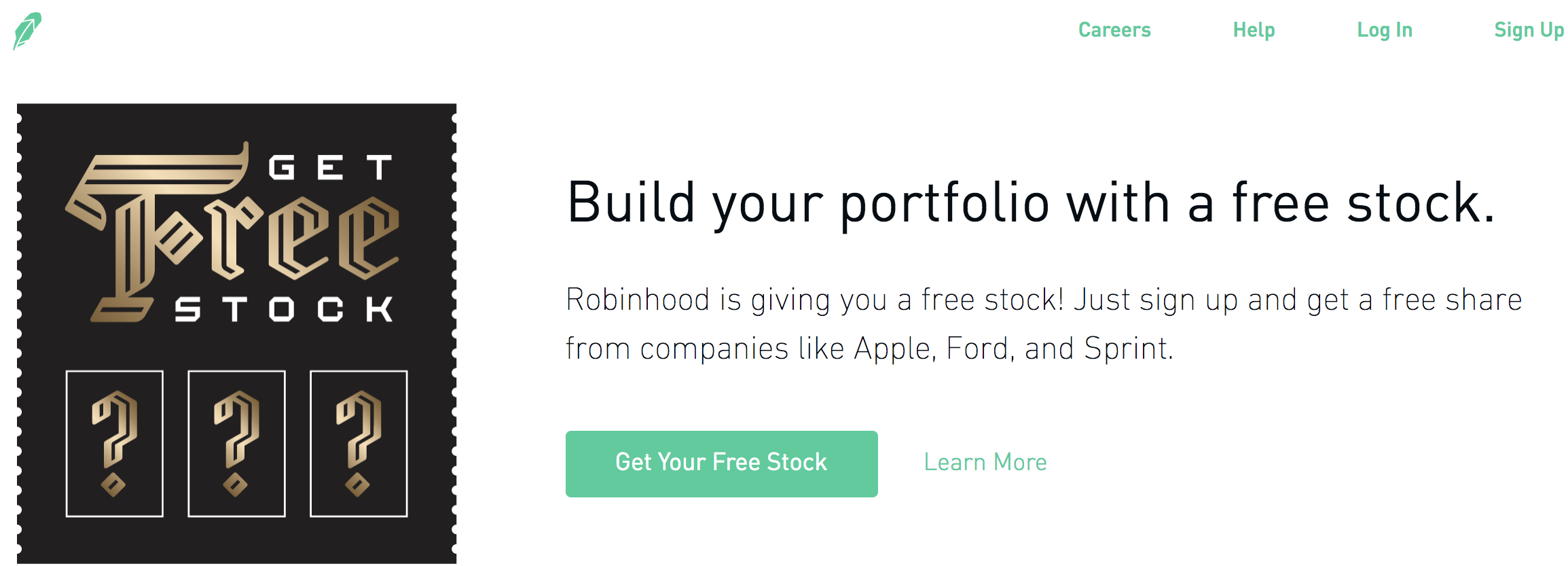 777574337dda How to Get Free Stock (An Offer from Robinhood)